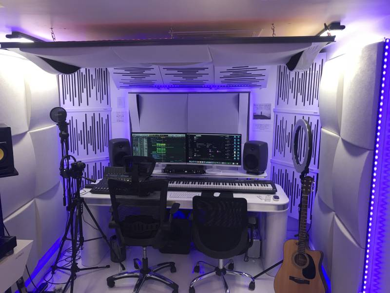 Pic of a city insulation built music studio