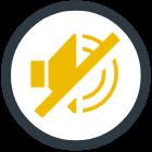 sound stop icon